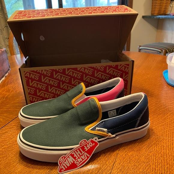 Vans Shoes | Nwt Varsity Vans Slipons